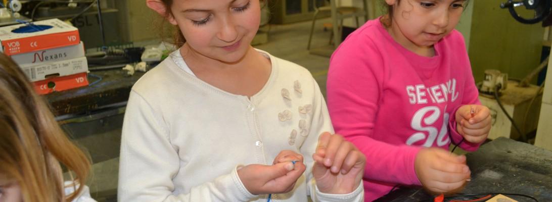 TSO-leerlingen organiseren techniek workshops voor jonge uitvinders