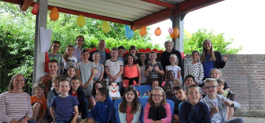 Inhuldingsfeest in de lagere school