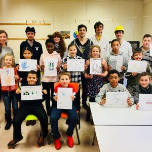 Kinderen en studenten ontwikkelen samen droomgame