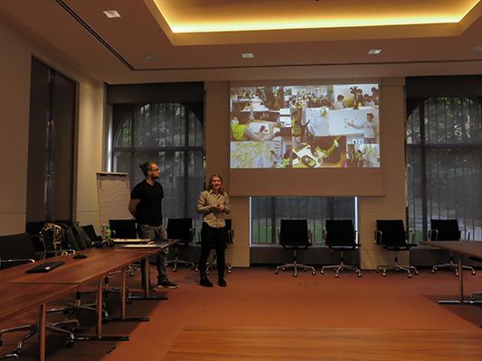 Presentatie concepten voor stakeholderspitch