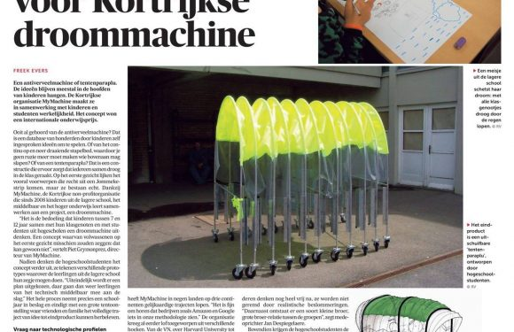 MyMachine in De Morgen