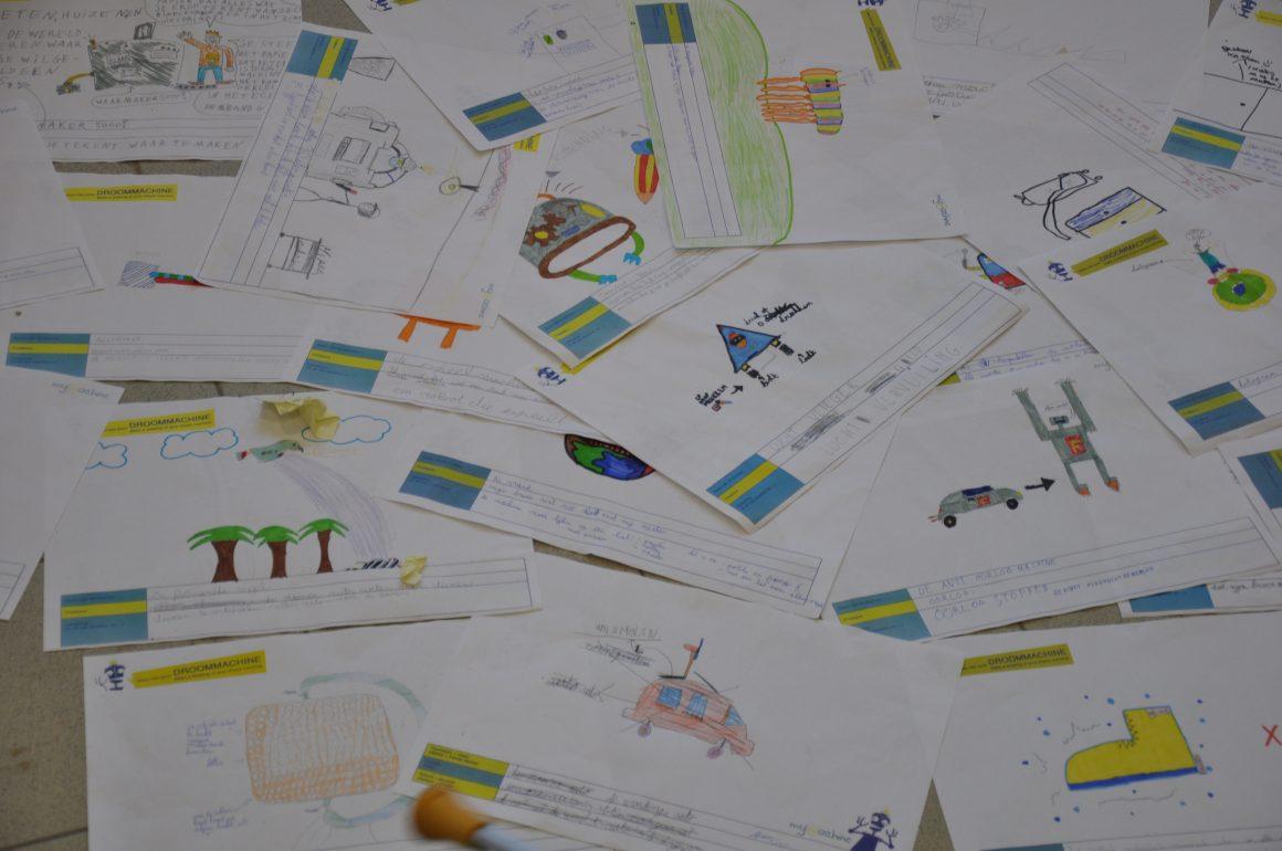 Analyseren tekeningen bij de droomcommissie