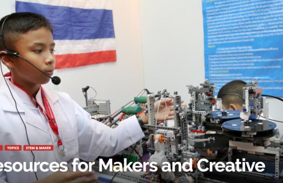 Getting Smart lijst van 50 bronnen voor makers en creatieve klassen: en we staan erop!