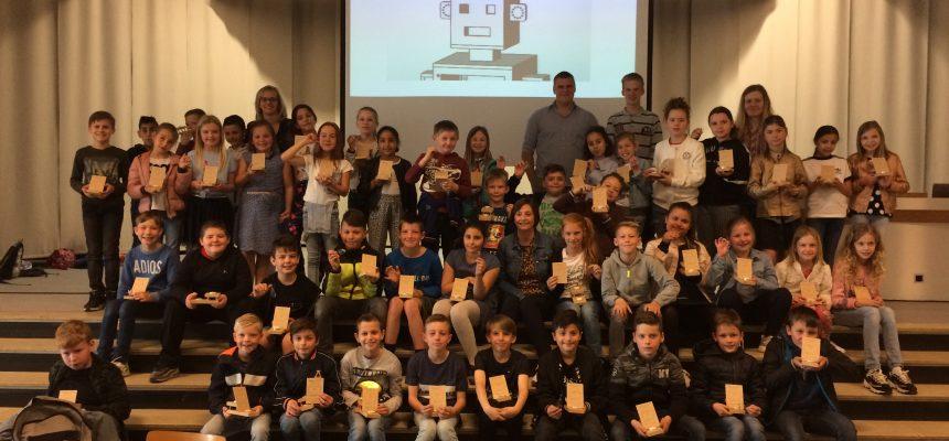 De workshop op de technische school was een succes!