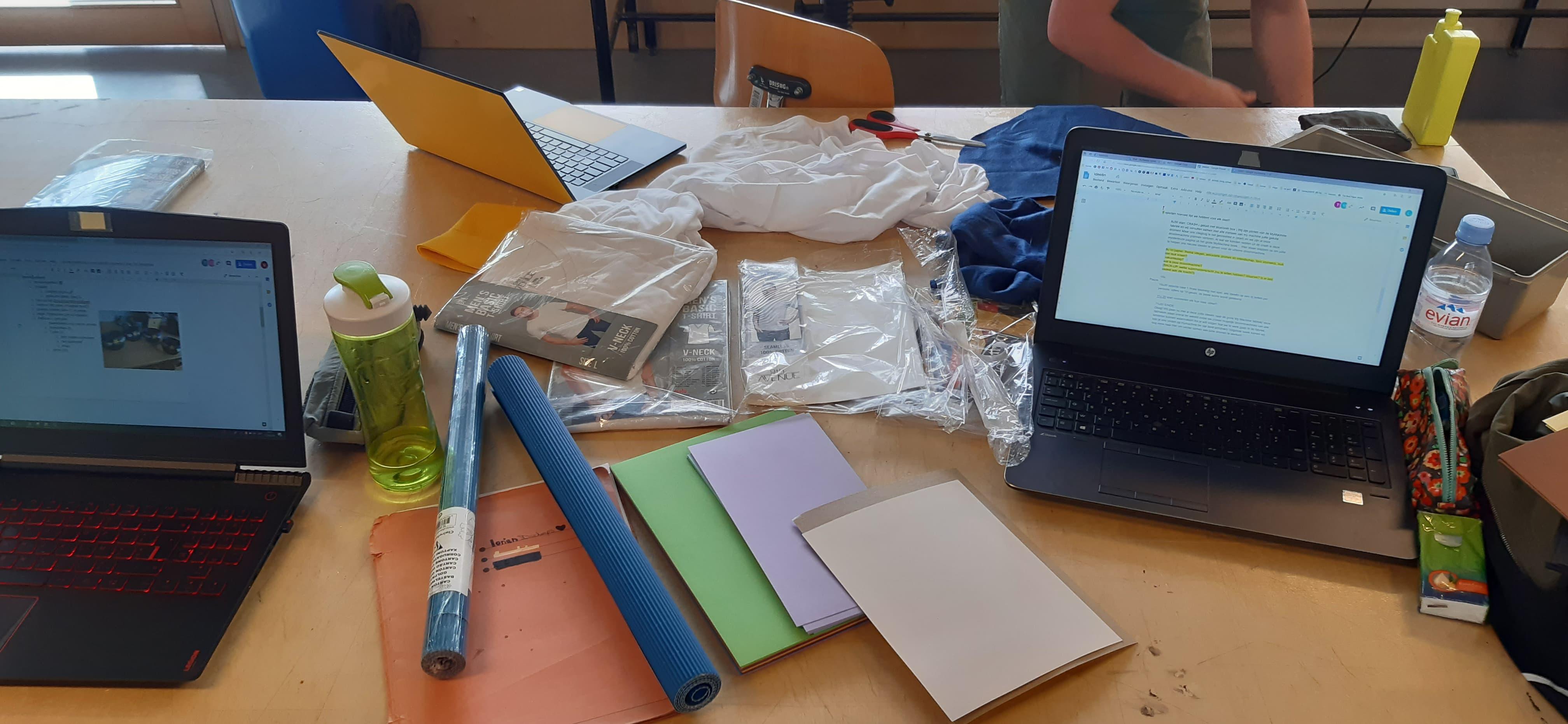 Voorbereiding creativiteitssessie