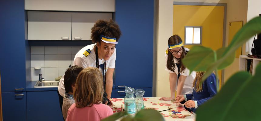 Co-creatie sessie in lager onderwijs – Plastic Vreter