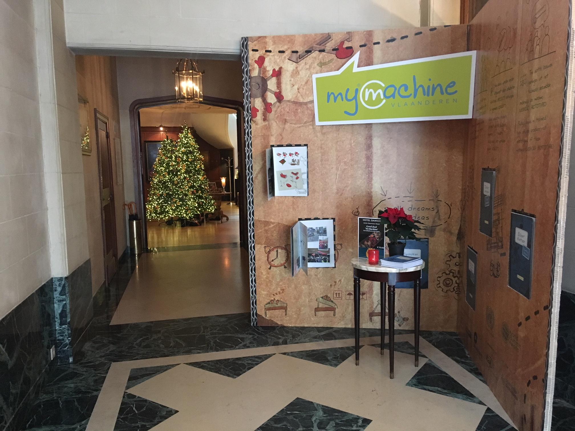Hotel Damier steunt MyMachine tijdens de Warmste Week