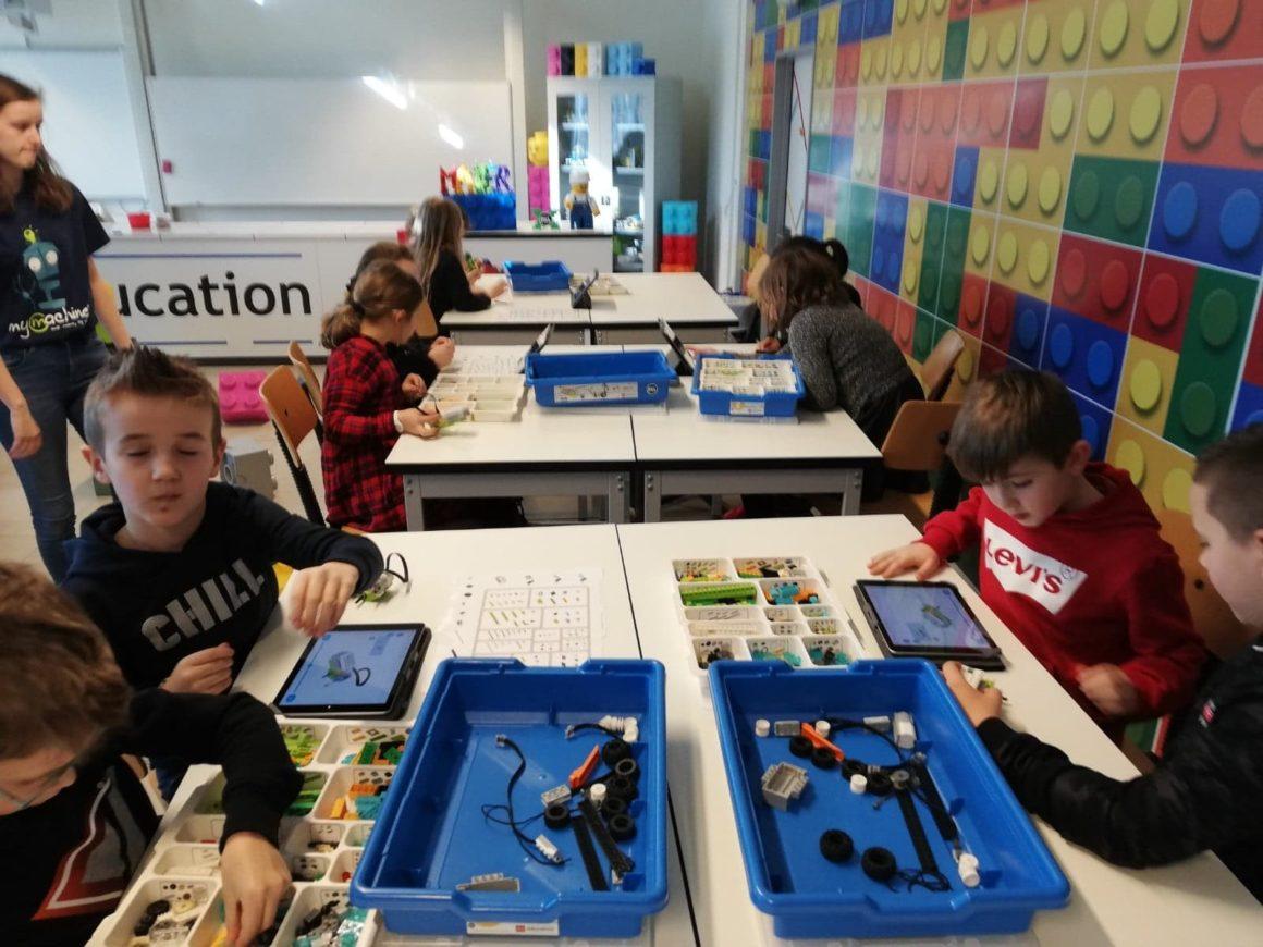 Workshops voor de leerlingen van lagere school