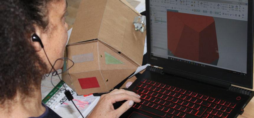 Opbouw van de Plastic Vreter in CAD (technische tekeningen)