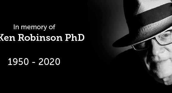 Ter nagedachtenis aan Sir Ken Robinson