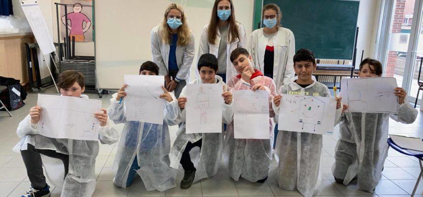 Creativiteitssessie in het lager onderwijs
