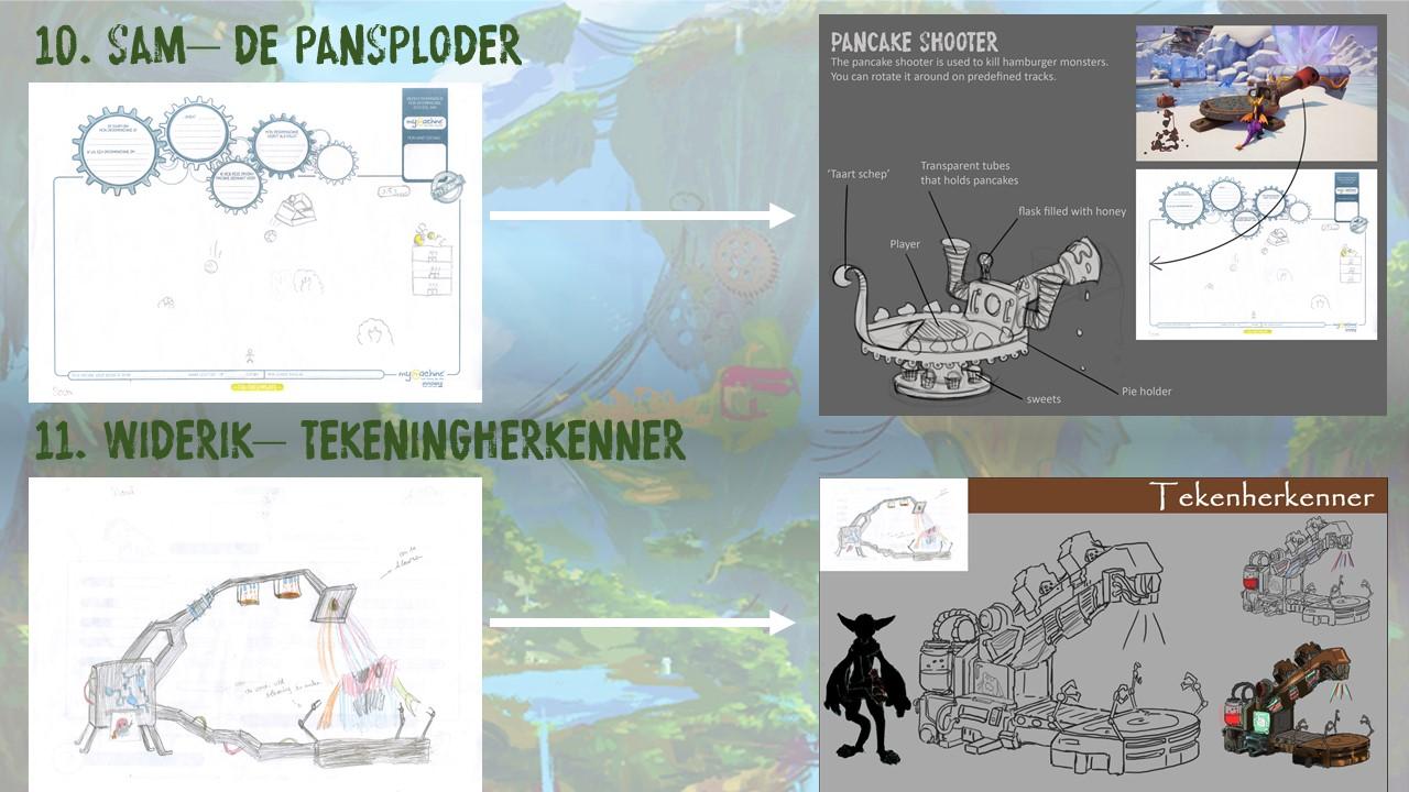 Sam – De Pansploder & Widerik – De Tekenherkenner