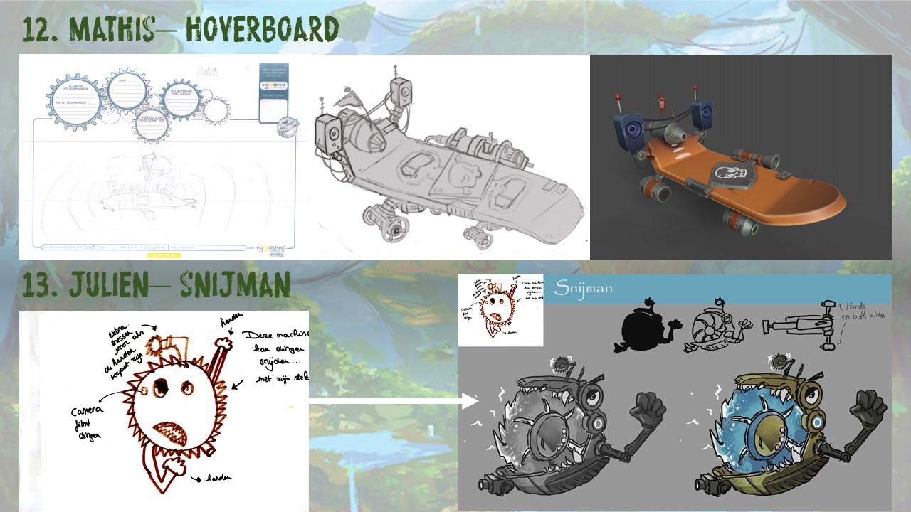 Mathis – Hoverboard & Julien – Snijman