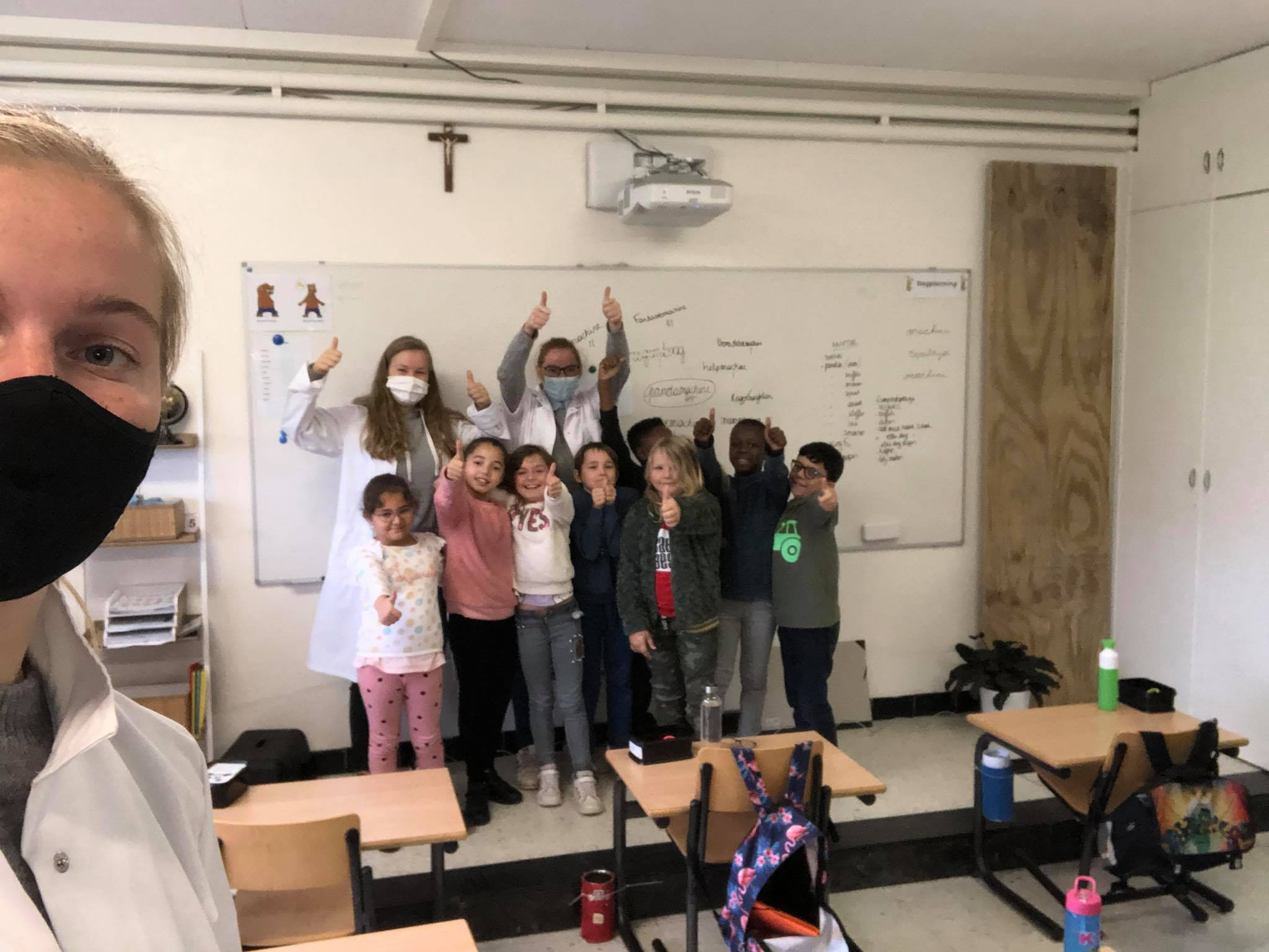 Co-creatie sessie in de lagere school