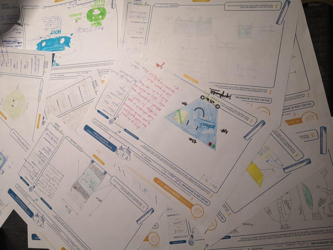 Brainstormen en ideeën verzamelen