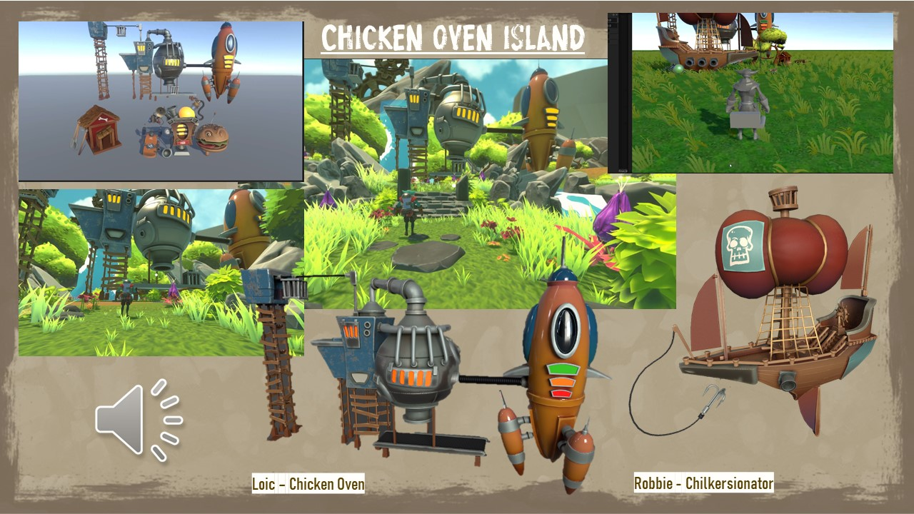 Introducing Chicken Oven Island