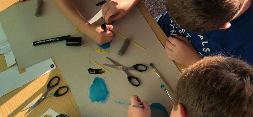 Co-creatiesessie van de leerlingen uit BLO De Vlinder