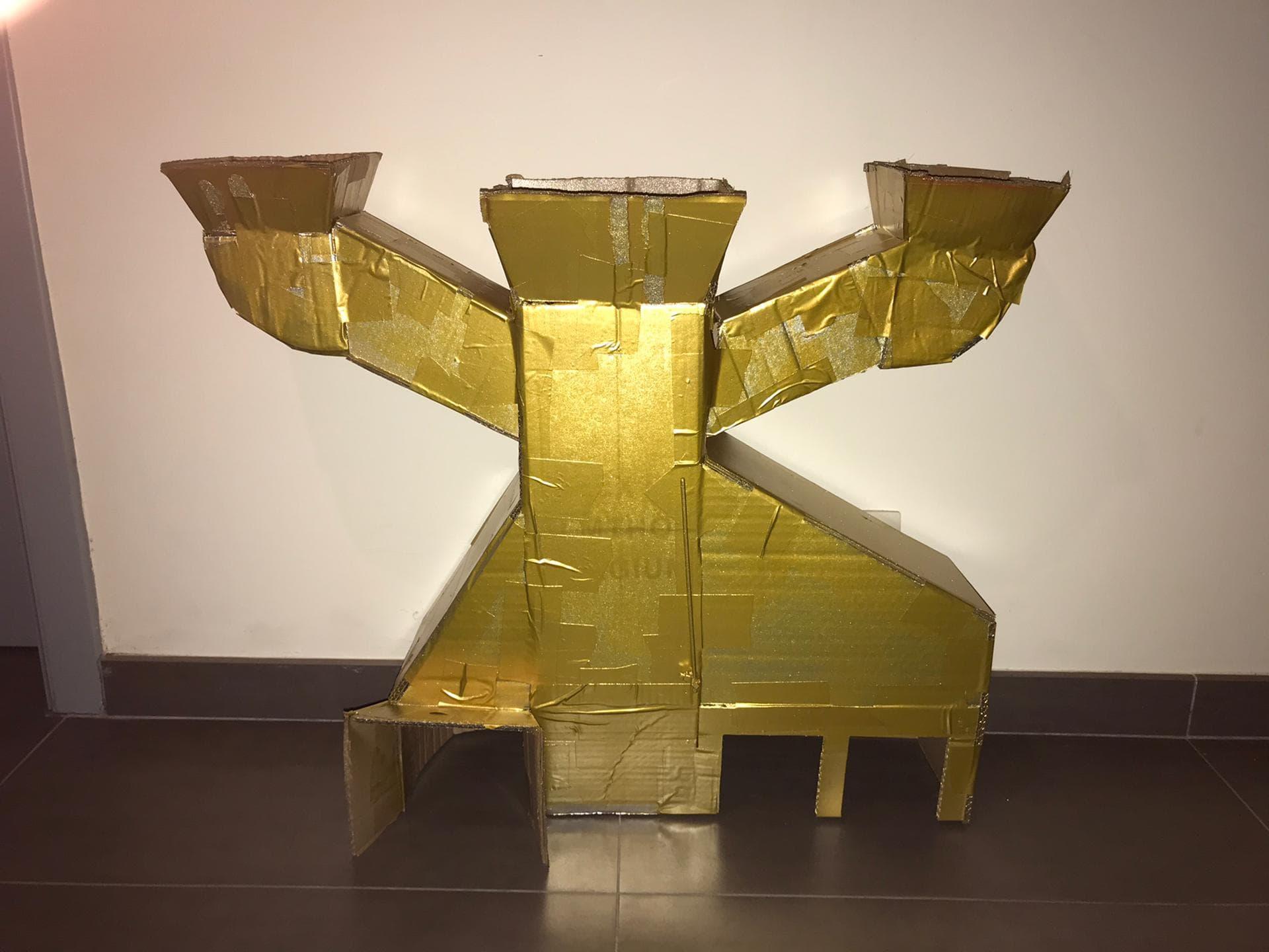 Maquette van de Robota Klussanias!