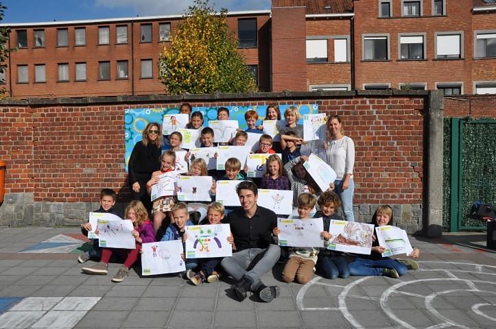 Co-creatie sessie in lager onderwijs door de hogeschoolstudent