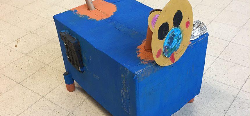 Leerlingen werkten hun 3D model af!