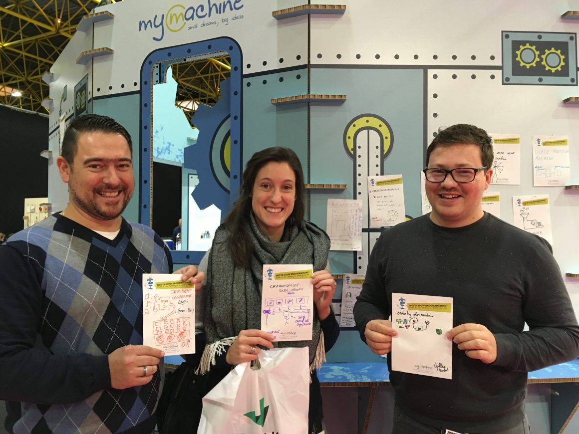 MyMachine op Prototyping beurs in Kortrijk XPO