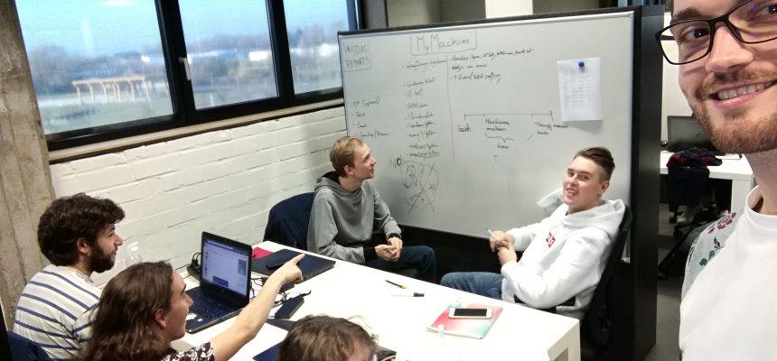 Start van het game ontwerp proces