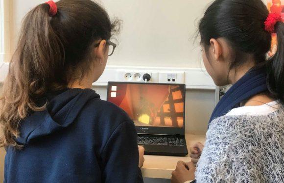 Jonge bedenkers testen eerste prototype droomgame