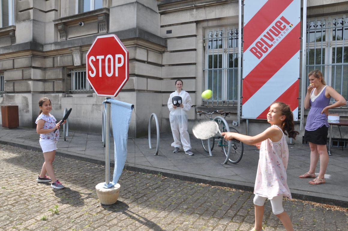 Slotexpo in het Belvue museum in Brussel.