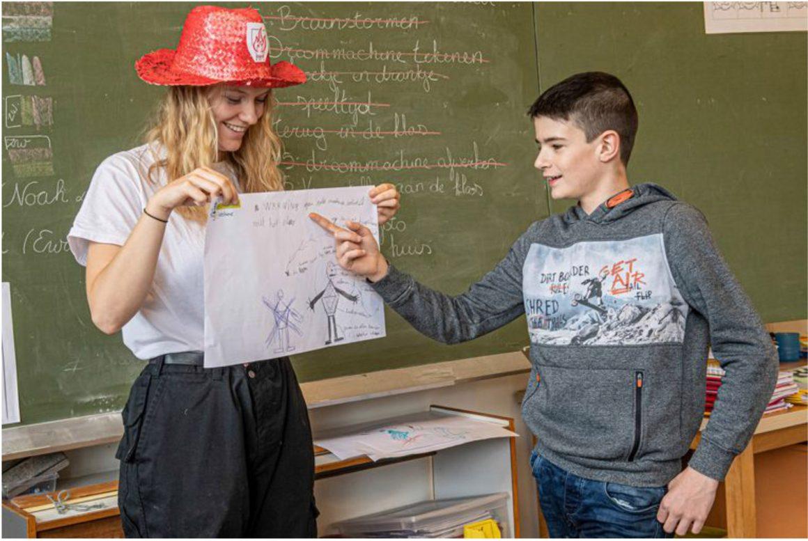 Howest studenten Ergotherapie als ontwerpers aan de slag in het buitengewoon onderwijs
