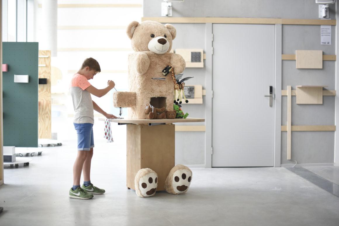 BIG TEDDY MACHINE