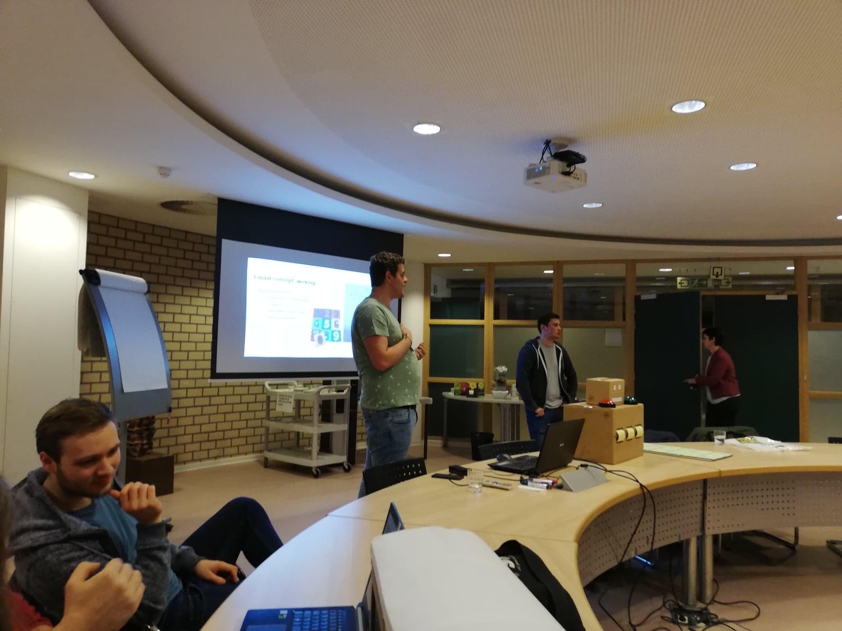Presenteren van prototype