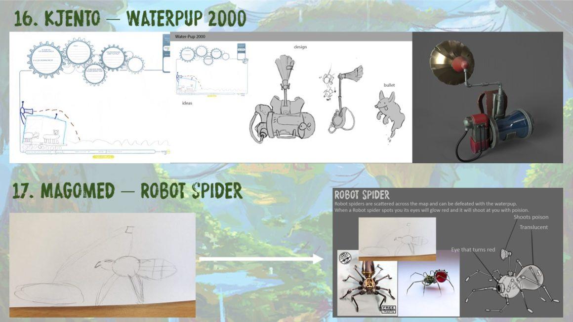 Kjento – Waterpup 2000 & Magomed – Robot Spider