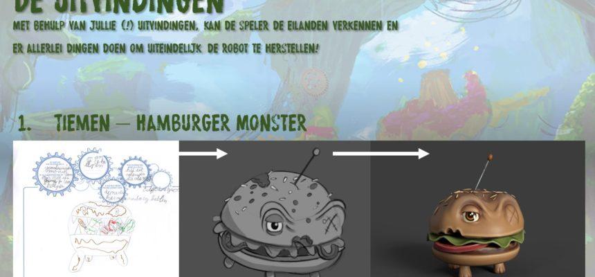Tiemen – Hamburger Monster