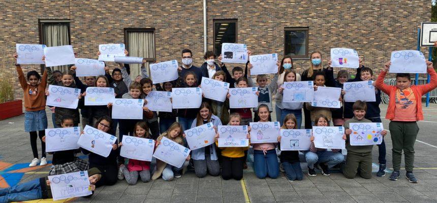 Creativiteitssessie in lager onderwijs