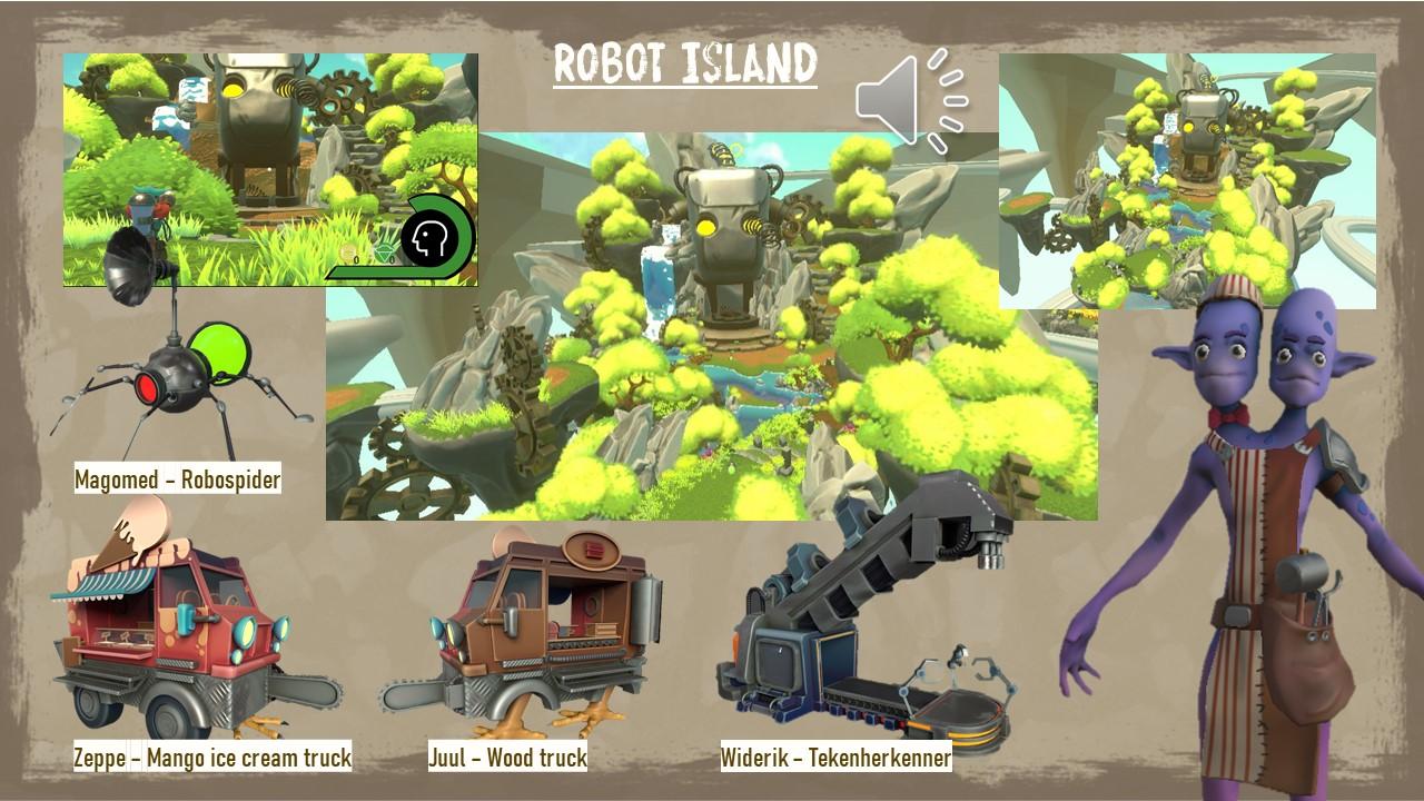 Introducing Robot Island