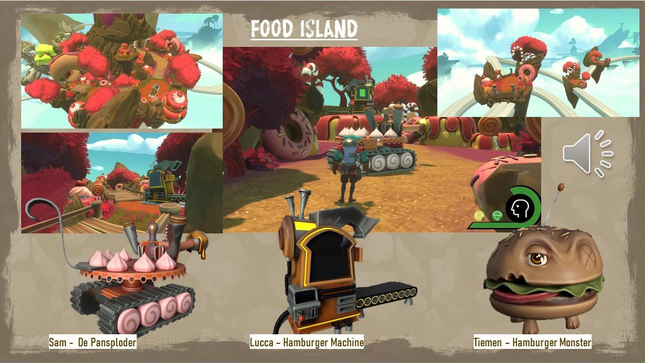 Introducing Food Island