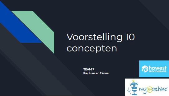 Presentatie 10 concepten