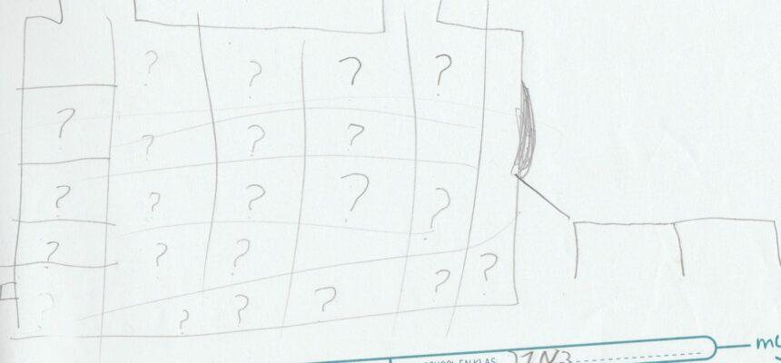 1 ste versie van de vragenmachine