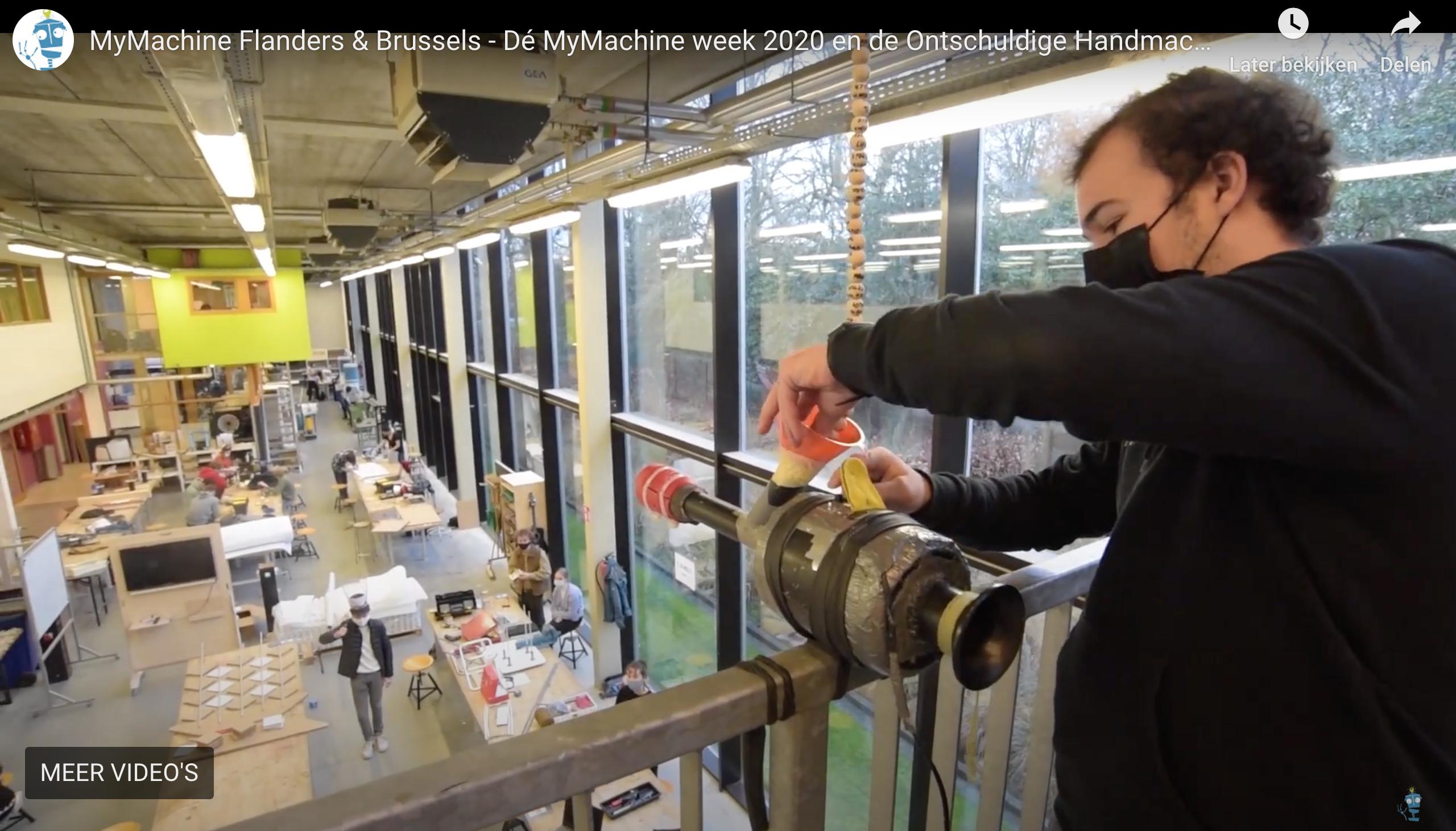 De Ontschuldige Handmachine bezorgt 4 klassen 'gouden toegangsticket' tot de MyMachine fabriek