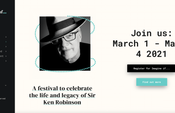 Imagine If…event als eerbetoon aan Sir Ken Robinson