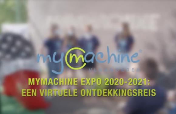 MyMachine Expo 2020-2021: Een virtuele ontdekkingsreis.